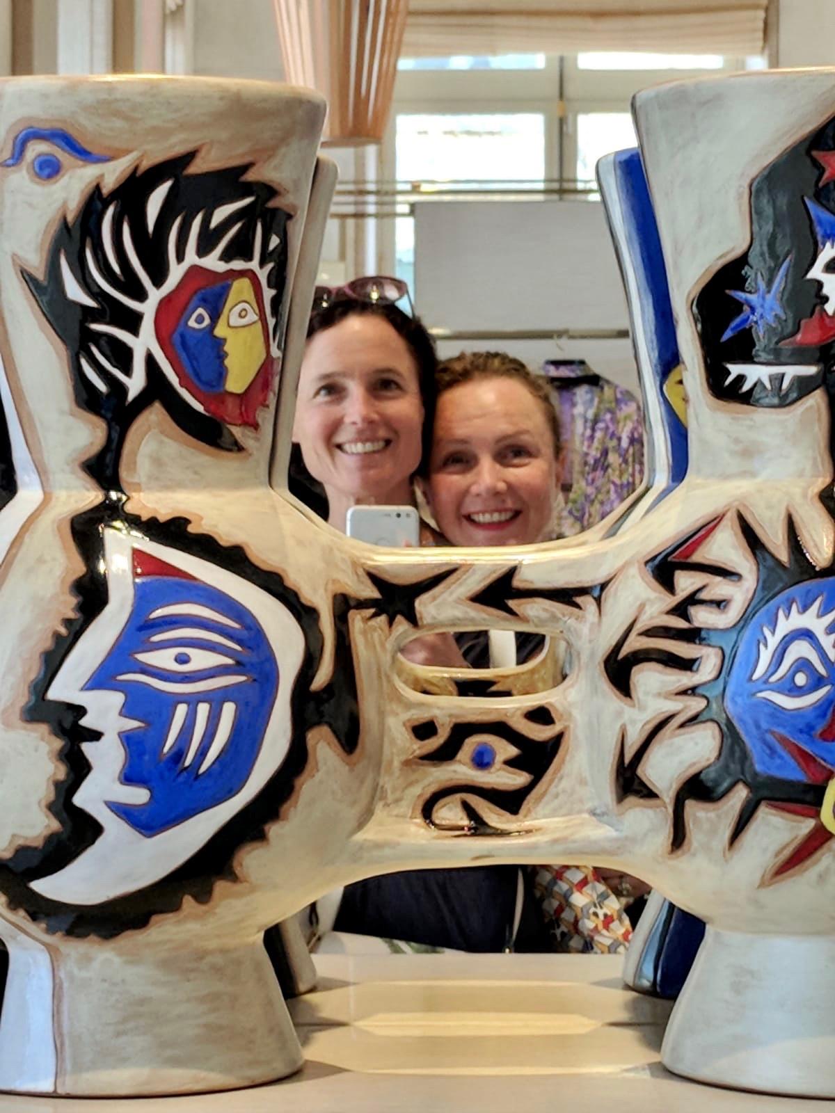 deux happy funky sisters Caroline Heukamp et Nathalie Boscq