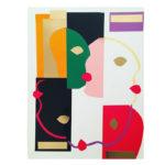 Collage papier pour Happy Funky Family par Virginie
