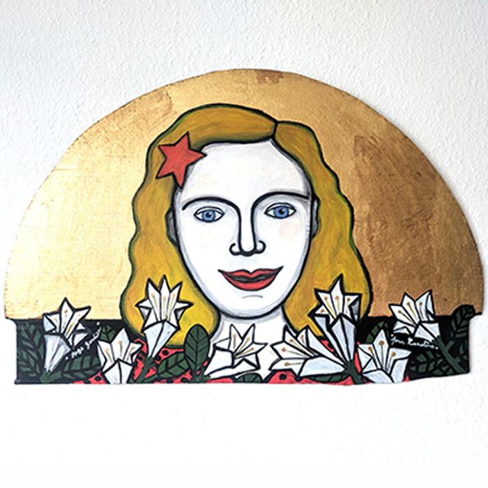 portrait de famille personnalisé et sur mesure, peint sur carton