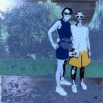Happy Funky family portrait de famille par des artistes internationaux