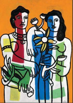 Fernand Léger portrait de famille