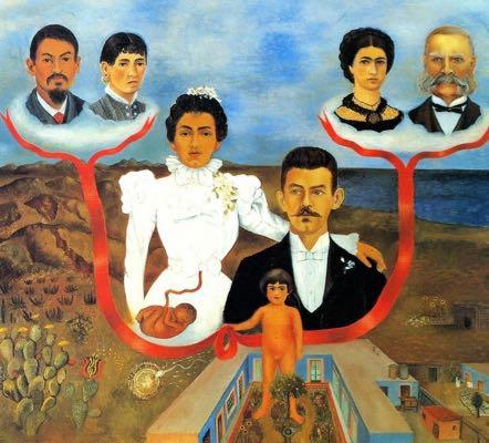Portrait par Frida Khalo