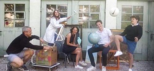 Photo de Famille à distance via Factime