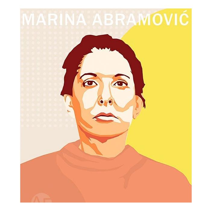 Portrait de Marina Abramovic