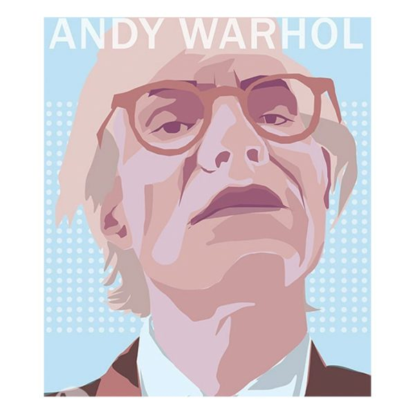 portrait Andy Warhol