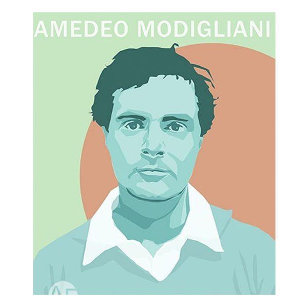 portrait de l'artiste Modigliani