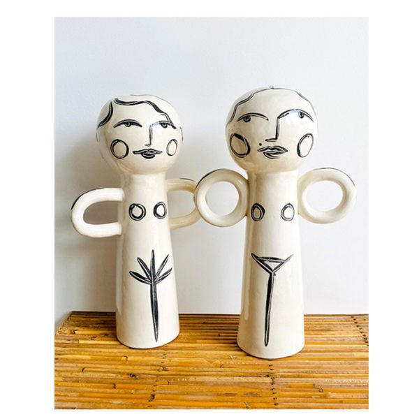 Ma famille en figurine en céramique