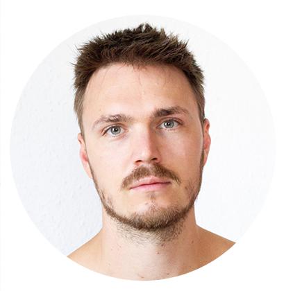 Portrait de l'artiste en collage Markus d'Allemagne