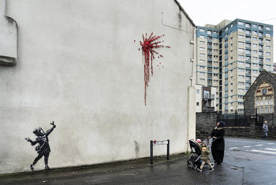 street artiste Banksy