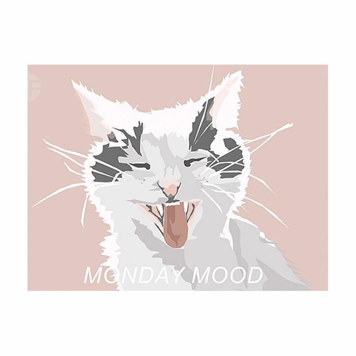 Illustration digitale d'un chat par Anna
