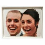 portrait personnalisé en pixels