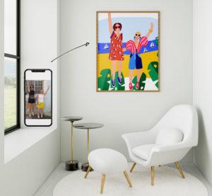 Nous transformons vos photos en oeuvre d'art