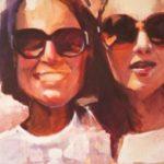 portrait des soeurs peint par Philippe