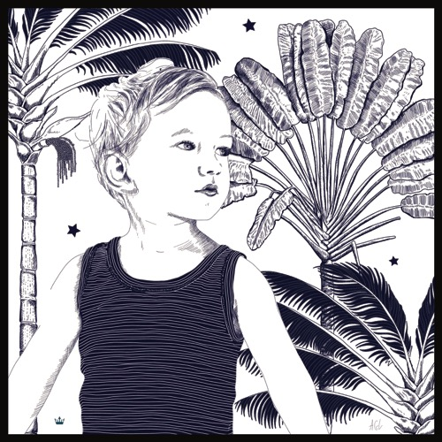 Portrait personnalisé façon toile de Jouy