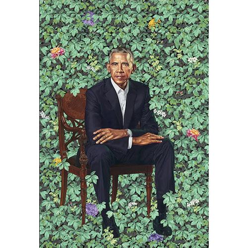 portrait peint à la main de Obama