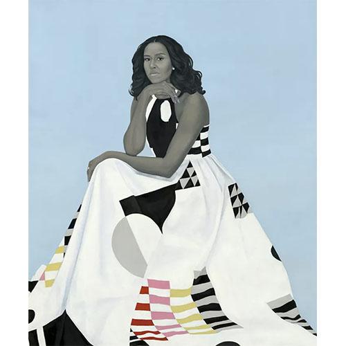 Portrait à la commande peint de Michele Obama
