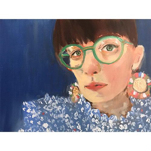 portrait peint à la main
