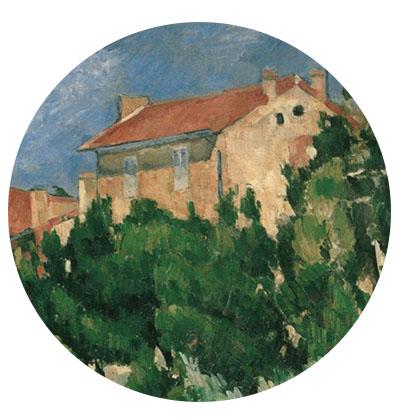 Maison peinte par Cézanne