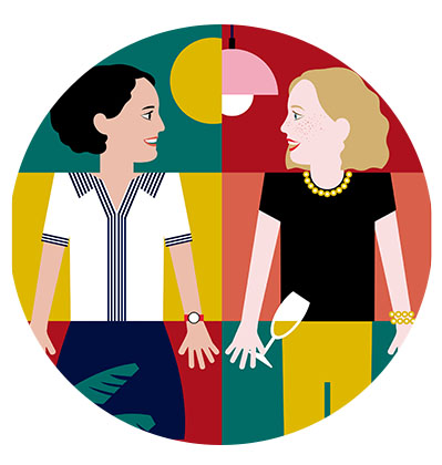 Portrait sur mesure et à la main en illustration digitale