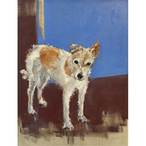 portrait de chien sur mesure